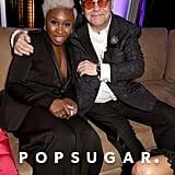 Pictured: Cynthia Erivo and Elton John