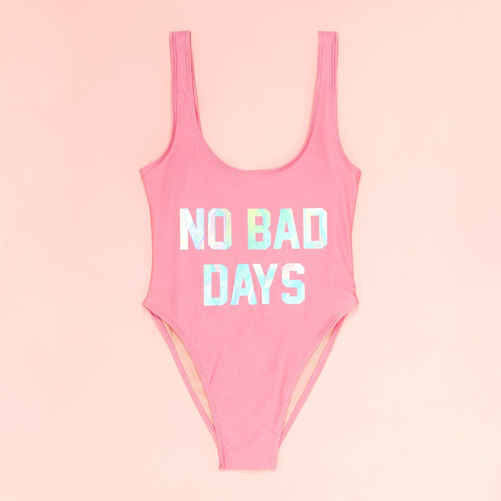 No Bad Days One-Piece Swimsuit