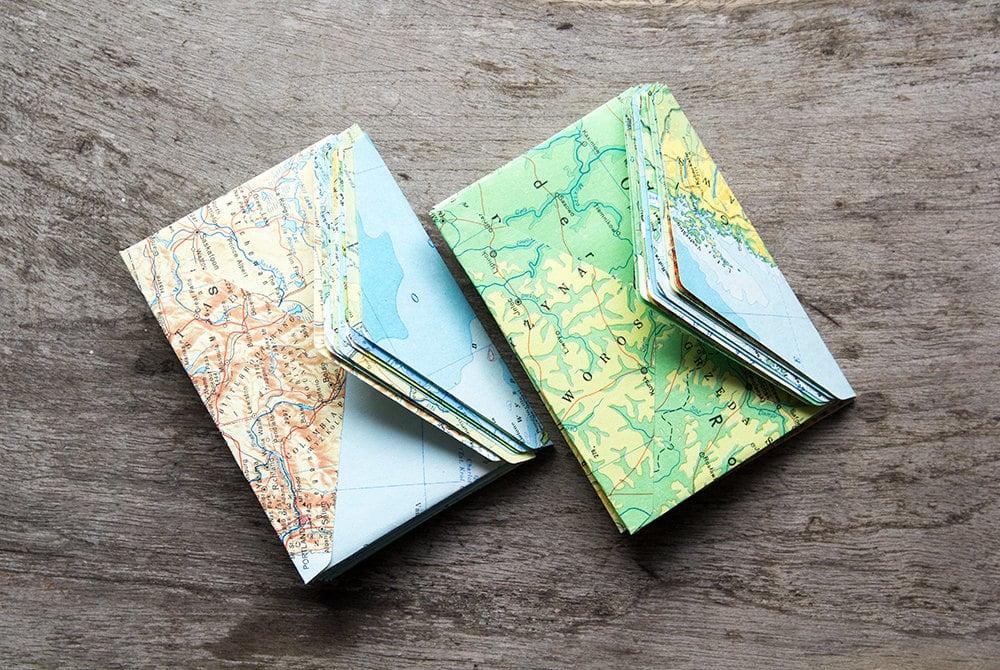 Map Mini Envelope