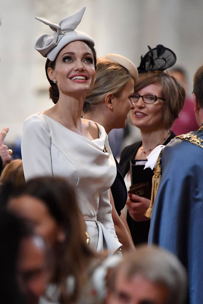 Angelina Jolie at a Royal Event in London June 2018