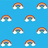 Wallcandy Rainbows Temporary Wallpaper