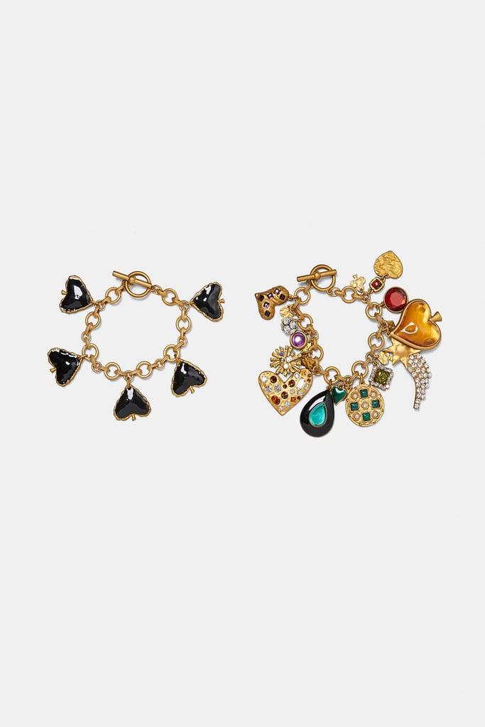 Zara Two-Pack of Charm Bracelets