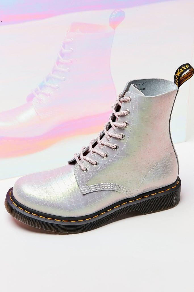 Dr. Martens 1460 Pascal Iridescent Croc Boot | Sparkly Dr
