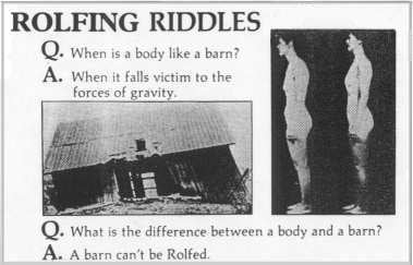 Rolfing Rhymes With Golfing