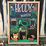 JT Biggers Monthly Milestone Board