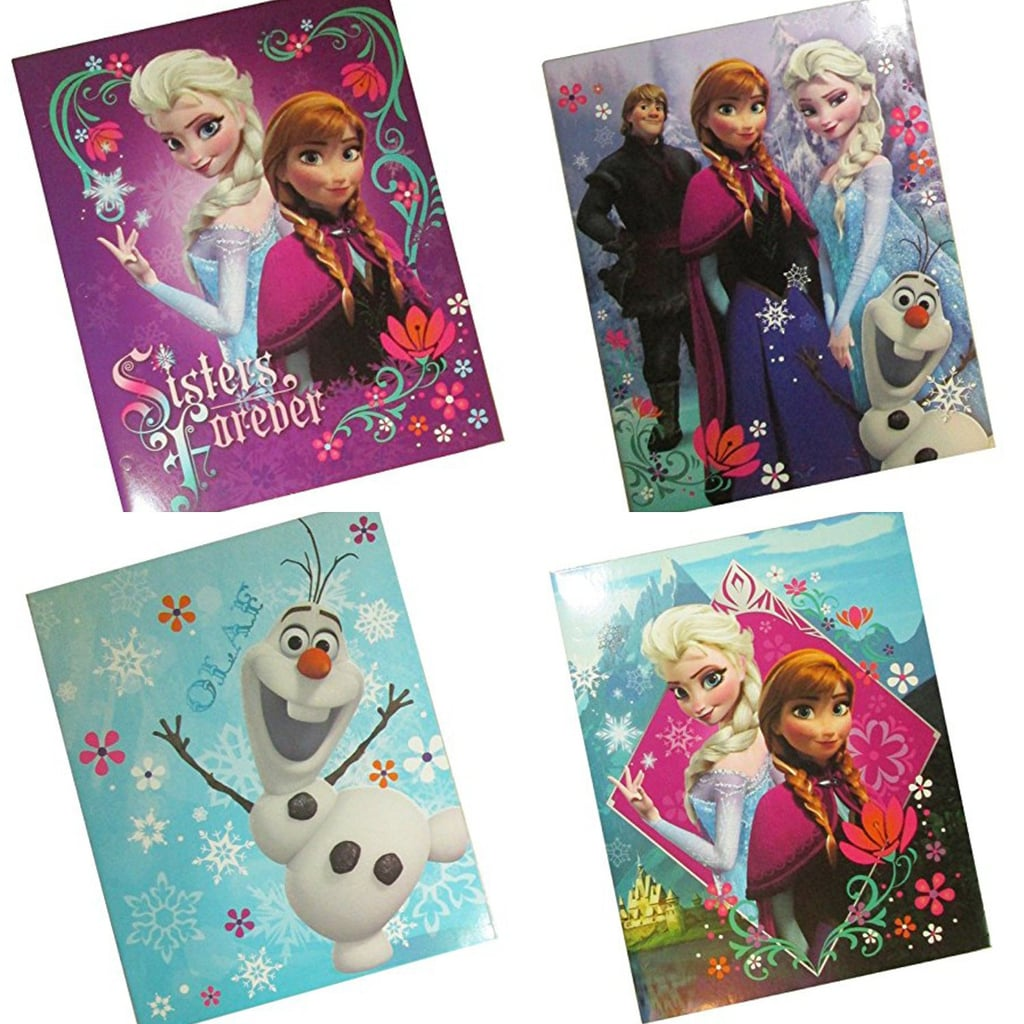 Disney's Frozen School Folders