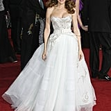 Stunning in Dior at the '09 Oscars.
