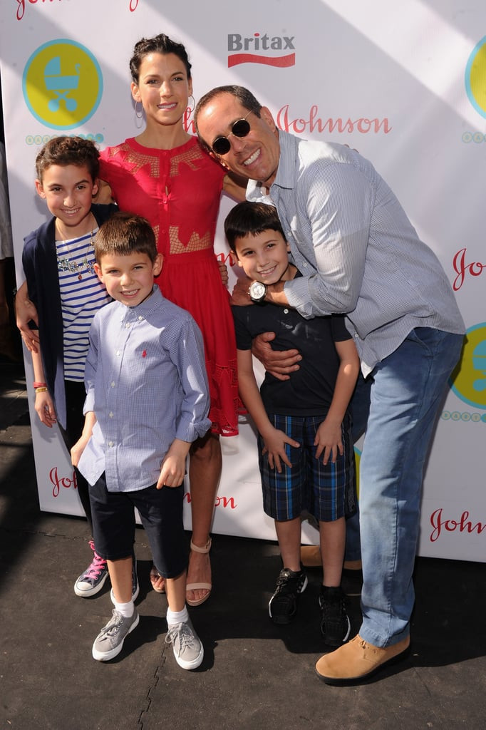 The entire Seinfeld family posed for a picture at the 2013 Baby Buggy Bedtime Bash.