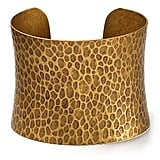 Av Max Concave Hammered Cuff ($30)