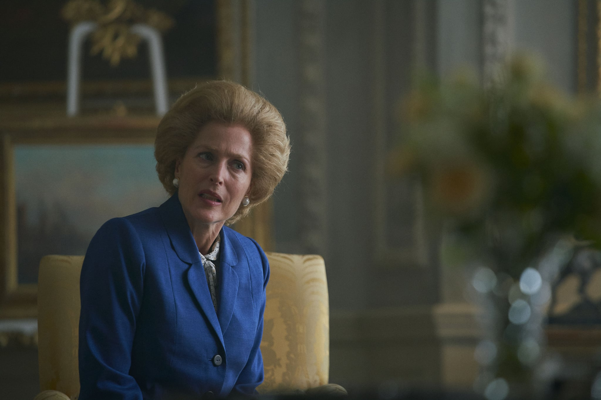 Margaret Thatcher Hairstyle Details On The Crown Season 4 Popsugar Beauty