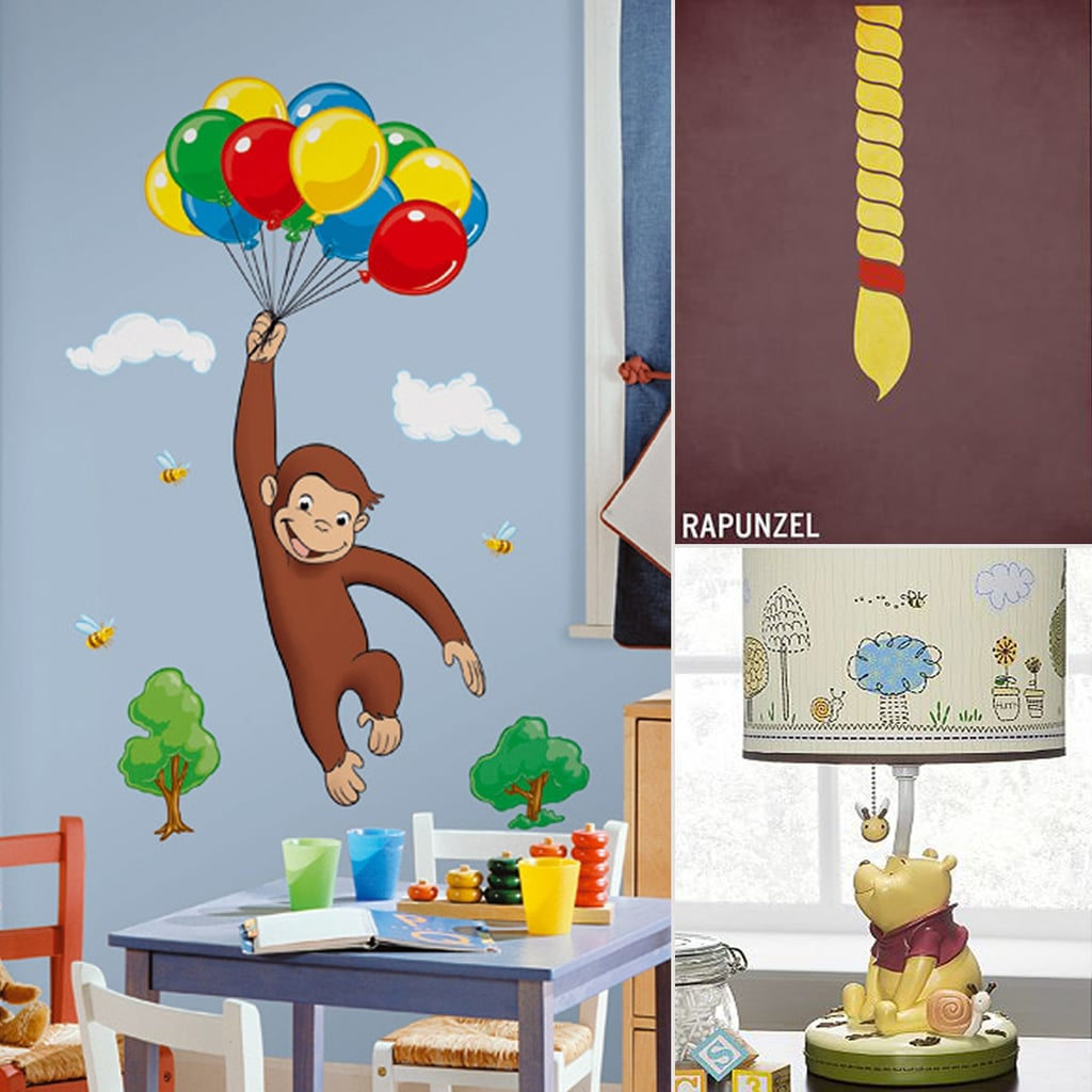 Book inspired kids 39 room decor popsugar moms for Room decor for kids