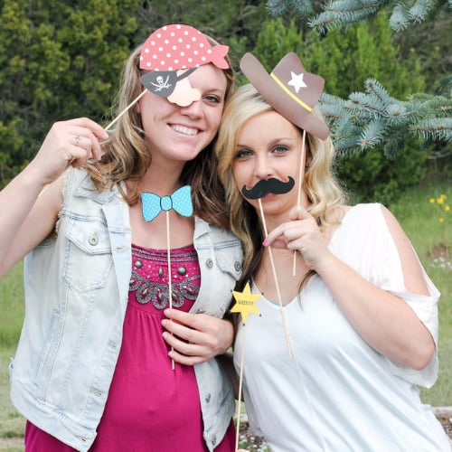 Cowboy-Themed Baby Shower