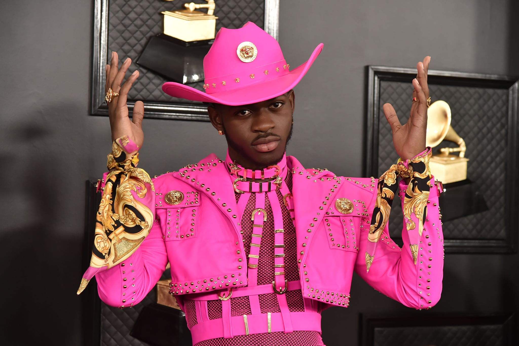 LOS ANGELES, CA - JANUARY 26: Lil Nas X attends the 62nd Annual Grammy Awards at Staples Center on January 26, 2020 in Los Angeles, CA. (Photo by David Crotty/Patrick McMullan via Getty Images)