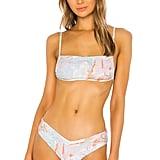 WeWoreWhat Leigh Bikini Top and Delilah Bikini Bottom