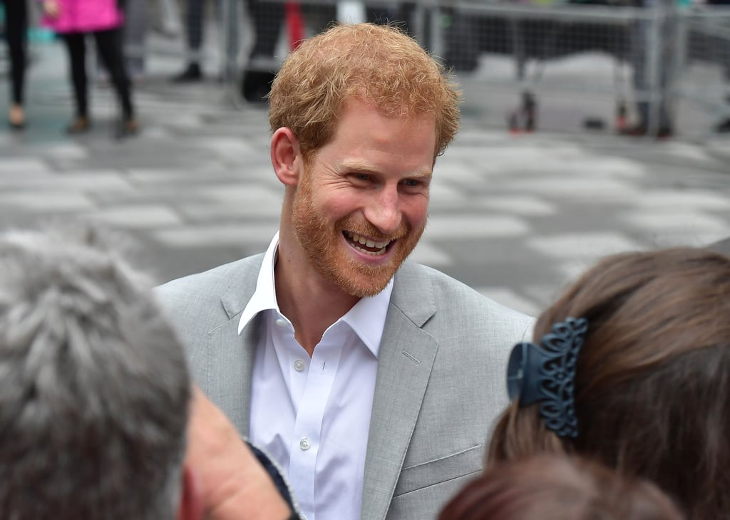 Prince Harry in Northern Ireland September 2017
