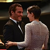 Joaquin Phoenix and Rooney Mara Make Their Low-Key Debut as a Couple at Cannes