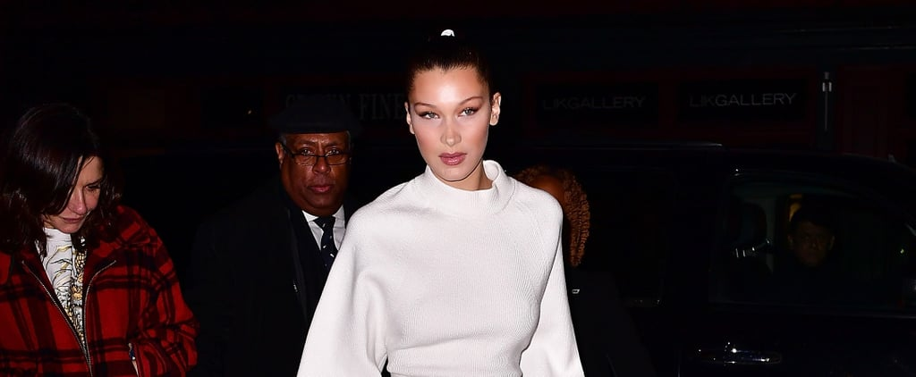 If You Take a Closer Look, Bella Hadid Isn't Wearing Your Average Pair of Sneakers