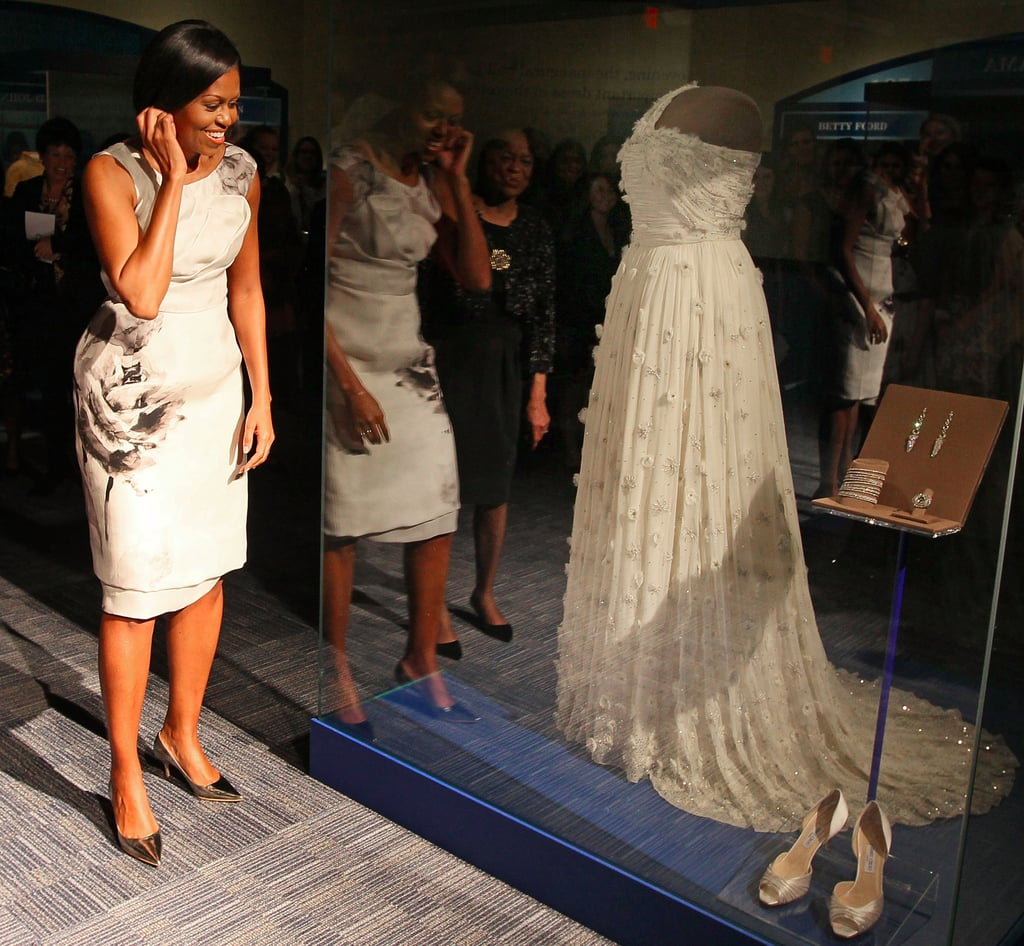 First Ladies' Inaugural Dresses