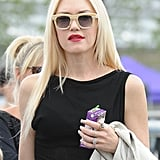 Although she's tried many a style, we can't get over how glamorous Gwen Stefani looks with her straight hair.