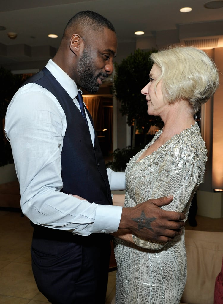 "When She Revealed Her Own Massive Crush on the ""Beautiful, Gorgeous"" Idris Elba"