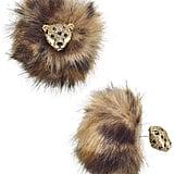 Kate Spade Cheetah Reversible Earrings