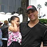 Tony Gonzalez and Malia