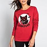 Furry Folklore Graphic Sweatshirt