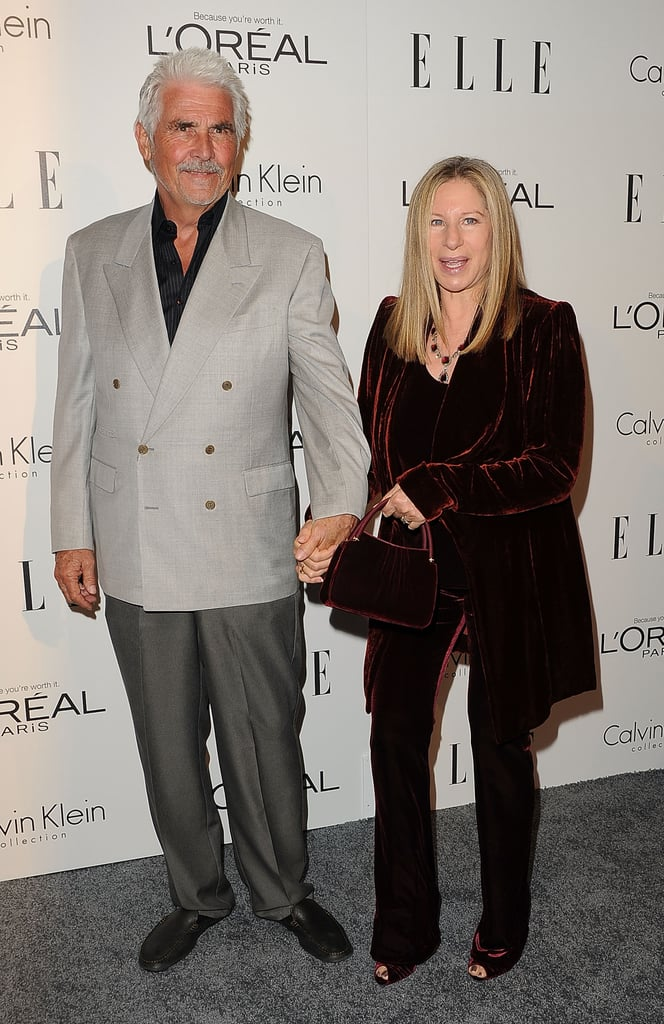 Barbra Streisand and James Brolin at an event for Elle in LA.