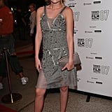 Kristen Stewart dressed up for the Into the Wild premiere in Toronto in September 2007.
