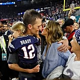 Tom Brady and Gisele Bündchen Take Their Love to the Field After the Super Bowl