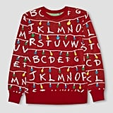Stranger Things Ugly Holiday Light-Up Sweater