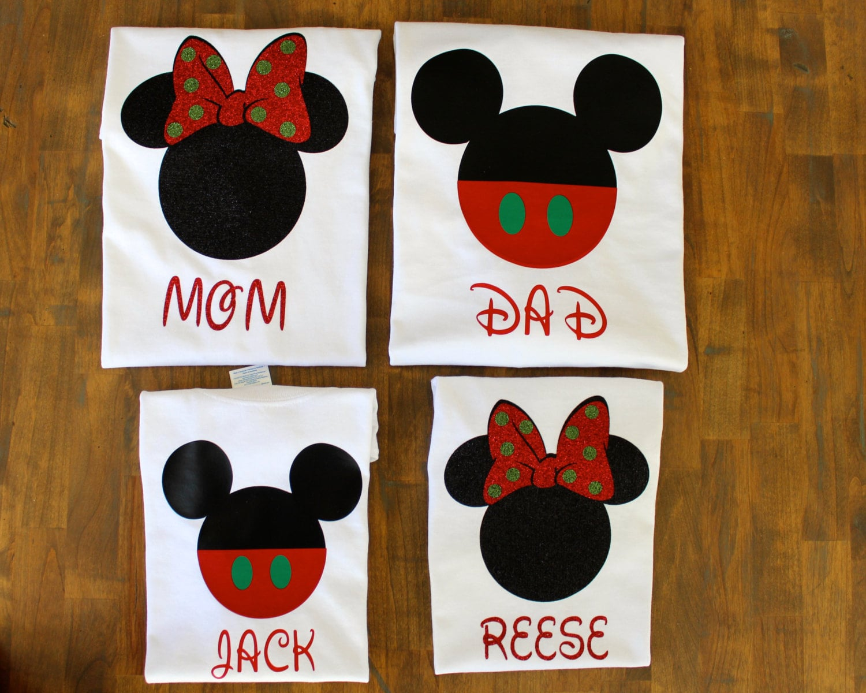 Disney Christmas Shirts.Matching Family Disney Christmas Shirts 19 Matching Disney
