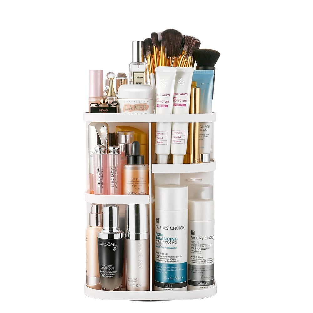... Than Having Your Collection Of Cosmetics Sprawled Across A Bathroom  Counter Or Vanity. Thatu0027s Where The Jerrybox Makeup Organizer ($19) Comes  In.