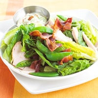 Fast and Easy Dinner: Turkey Bacon Salad