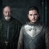 When Jon Snow Works That Armor Like It's His Job