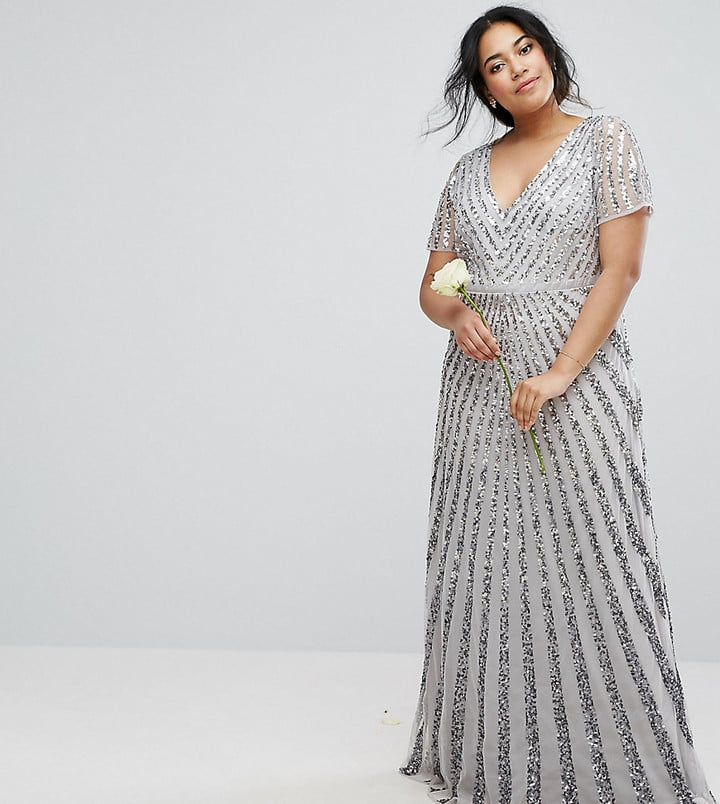 Maya Allover Sequin Dress | Plus-Size Holiday Dresses | POPSUGAR ...