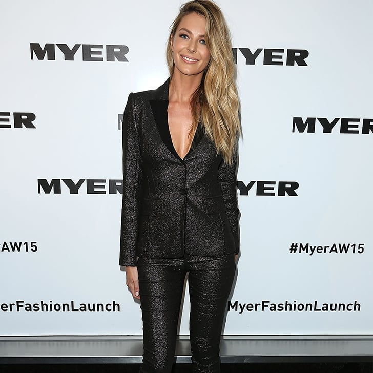 Celebrities at Myer Autumn Winter 2015 Fashion Launch