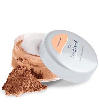 Set with powder