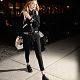 Gigi Hadid Stepped Out Wearing a Sleek Black Pair of Sneakers