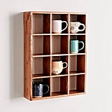 Alice Wood Mug Shelf
