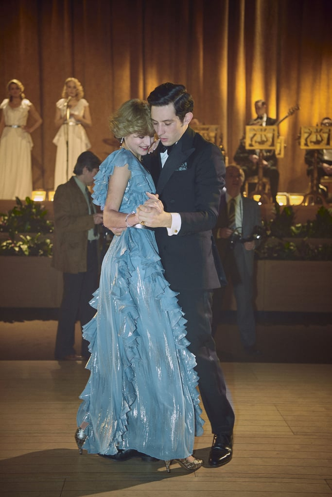 Princess Diana's Blue Gown on The Crown