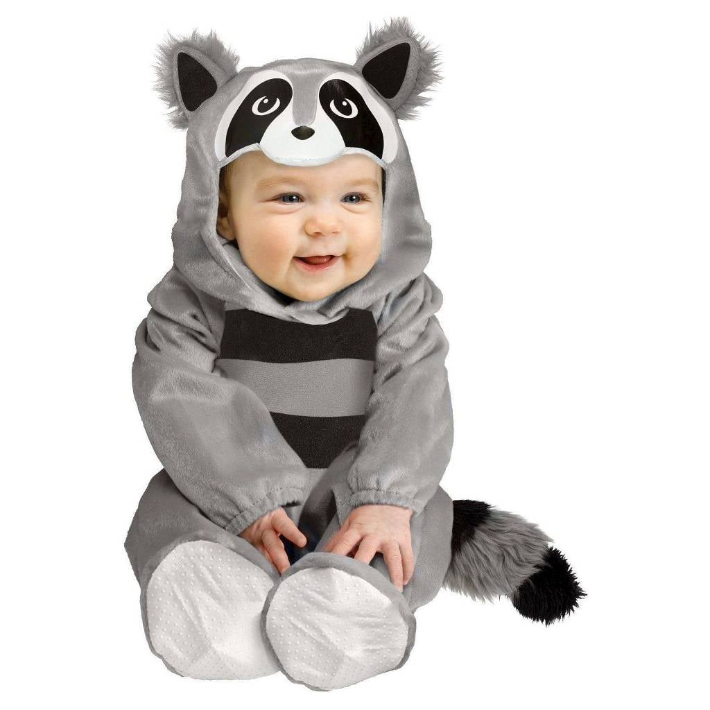 baby raccoon infant costume | warm halloween costumes for babies