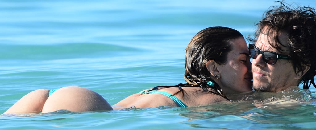 Mark Wahlberg's Beach PDA Is Almost Sexier Than His Insane Abs