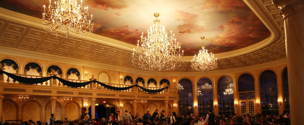 You'll Want to Be a Guest at This Stunning Beauty and the Beast Restaurant