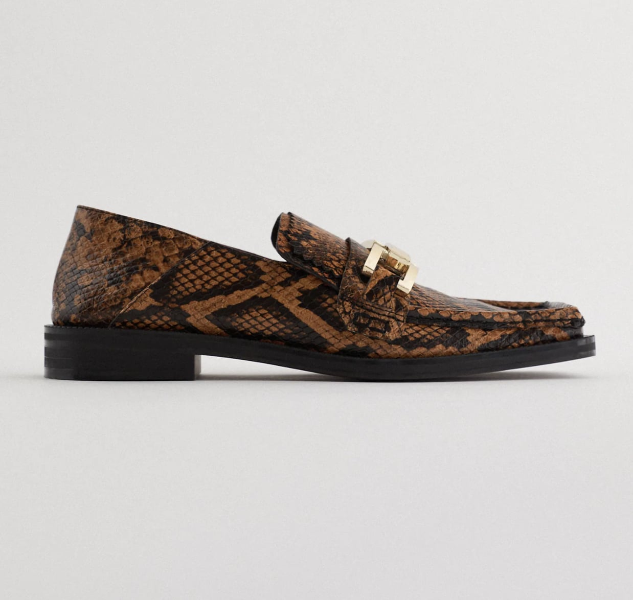 Zara Animal-Print Loafers | The 5