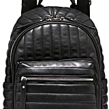 Neiman Marcus Linear Quilted Backpack