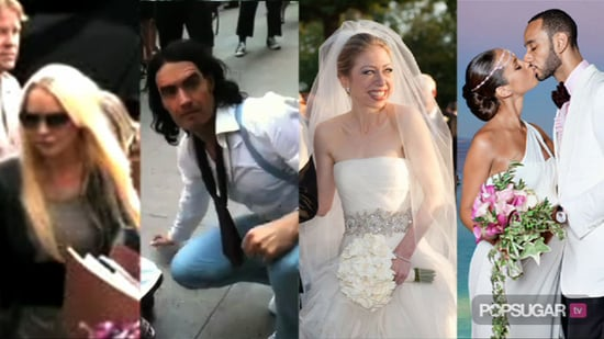 The Time Lindsay Lohan Spent in Jail, Video of Russell Brand Filming Arthur in NYC, and Pictures of Chelsea Clinton at Her Weddi 2010-08-02 14:28:24