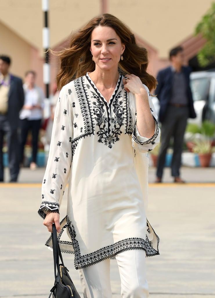 Kate Middleton Wearing Elan