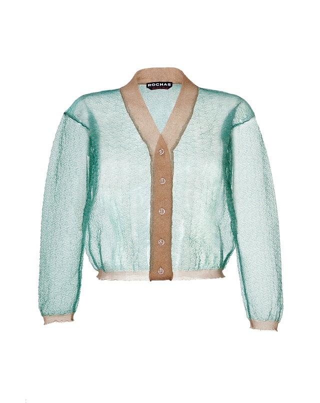 Rochas Sheer Knit Cardigan (£355)