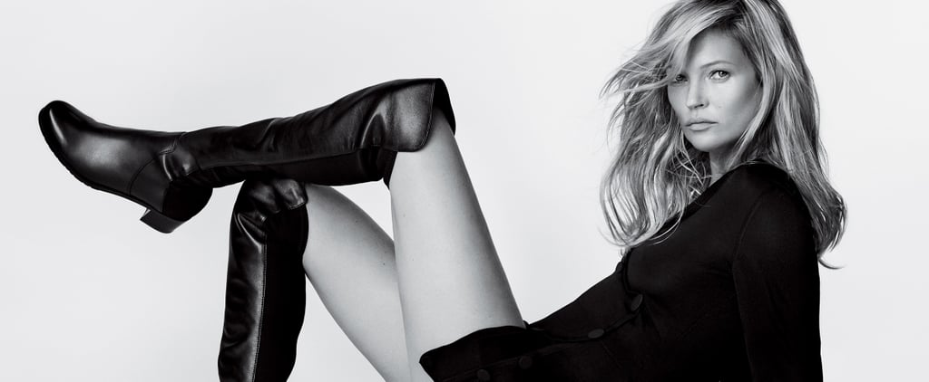 Kate Moss Is Making a Case For Thigh-High Boots This Spring